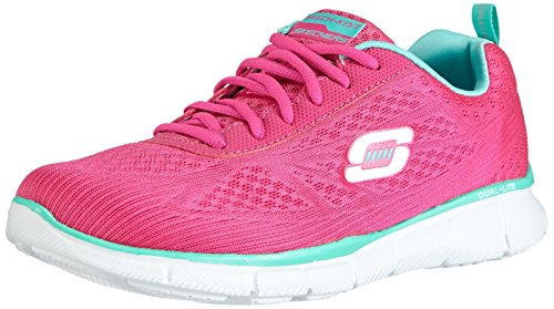 Skechers  Equalizer True Form, Sneakers basses femme Rose - Pink (HPK)