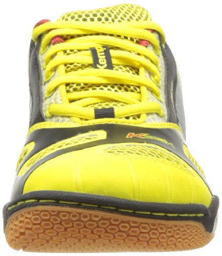 Kempa Hurricane (Litetech Michelin), Chaussures de handball mixte adulte Jaune/Noir/Rouge