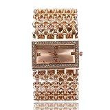 OUTAI Uhr-Legierung Quadrat Breitband Mädchen Armbanduhr Temperament Göttin Armband Damenuhr