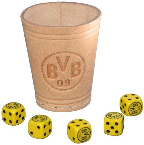 Preisvergleich Produktbild Teepe 14130 - Borussia Dortmund Würfelbecher +6 Würfel