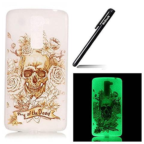 Btduck Coque De Protection Housse Étui Pour LG K7 Flip Case Cover Lumineux D