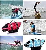 Hund Schwimmweste LIFE JACKET Schwimmen Vest Kleidung Oxford Ripstop Quick Release - 3