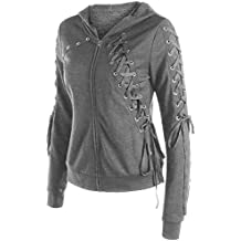 Amazon Mujer Sudaderas es Nike Gris AaArpwzF