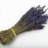 Lavendel-Strauß mit 250Stängeln getrockneten Blumen, 30cm, Hochzeitsdekoration., violett, 5 Bunches