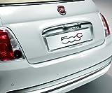 FIAT echtes offizielles 500chrom Auto Nummernschild Rahmen–hinten 71805608