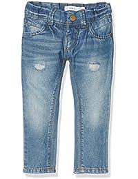 Name It Nittelse Reg/Xxsl Dnm Pant Nmt Noos, Jeans Fille