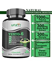 Naturyz Testo6 Natural Testosterone Booster Supplement with