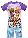 L.O.L. Surprise! Costume da Bagno per Ragazze Dolls Multicolore 4-5 Anni