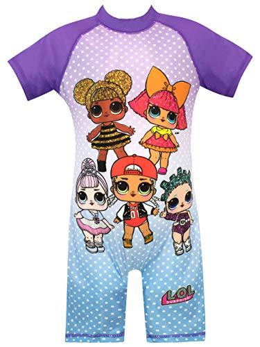 LOL Surprise Bañador para Niña Dolls Multicolor 3 a 4 Años