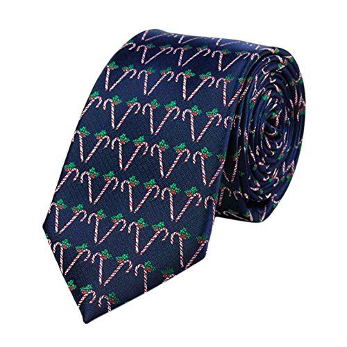 LeisialTM Hombres Corbatas Navidad Camisa Traje Corbata