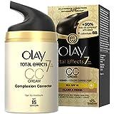 Olay Total Effects 7 en 1 CC Cream Hidratante Claro a Medio - 50 ml