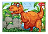 #7: Kidz Valle Dinosaur 48 Pieces Tiling Puzzles (Jigsaw Puzzles, Puzzles for Kids, Floor Puzzles) Puzzles for Kids Age 4 Years and Above