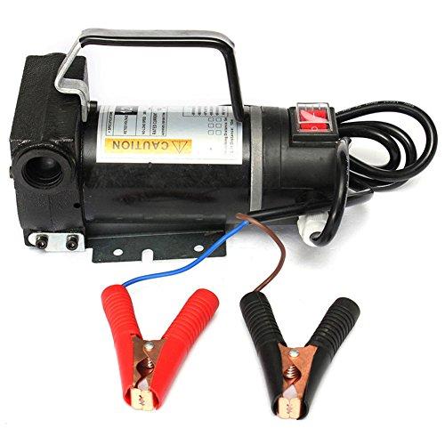SaySure - 12V Portable Fuel For Diesel Pump Oil Transfer Pump