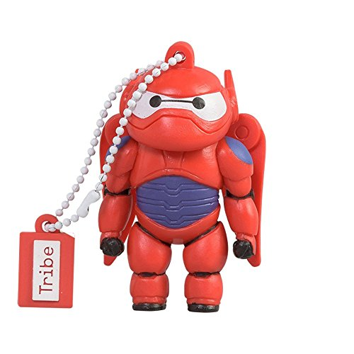 Big hero 6 chiavetta usb 16 gb baymax armored - memoria flash drive 2.0 originale disney pixar, tribe fd027502
