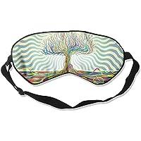 Colorful Fashion Artistic Trees Sleep Eyes Masks - Comfortable Sleeping Mask Eye Cover For Travelling Night Noon... preisvergleich bei billige-tabletten.eu