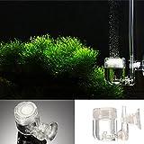 sypure (TM) 4en 1regulador de CO2Difusor Compruebe Vavle burbujas con forma de U tubo ventosa acuario tanque de peces planta accesorio herramienta Aquario