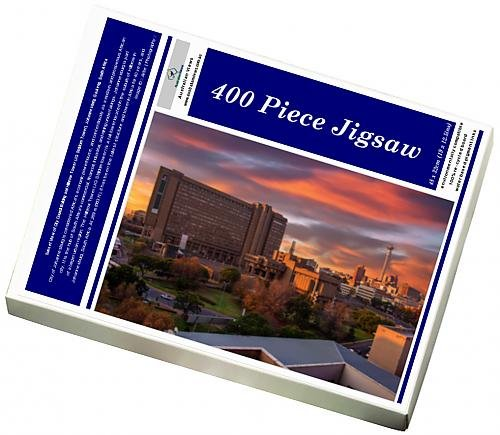 photo-jigsaw-puzzle-of-sunset-view-of-city-council-building-and-hillbrow-tower-jg-strijdom-tower