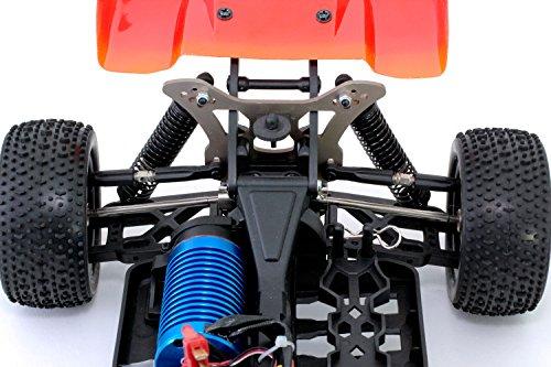 RC Auto kaufen Buggy Bild 5: XciteRC 30321000 - ferngesteuertes RC Auto One10 Buggy 4WD Brushless, blau*