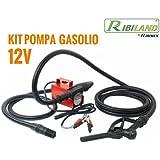 Ribitech - prkg12v - Kit pompe gasoil complet 12 volts