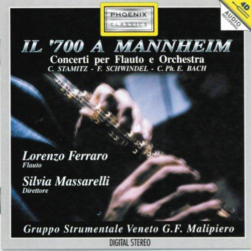 Carl Stamitz: Concerto No. 3 in Re maggiore per flauto e archi: Allegro