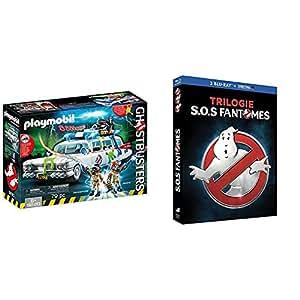 Playmobil - 9220 - Ecto-1 Ghostbusters + SOS Fantômes Trilogie [Blu-ray + Copie digitale]