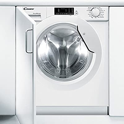 Candy CBWD8514D-80 1400 Spin 8kg+5kg Integrated Washer Dryer in White