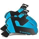 Riesel Schlamm PE Front & Rear Bike Mudguards - Blue