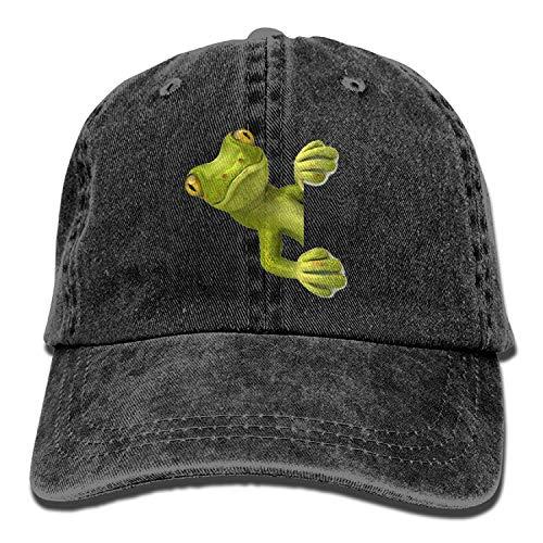 Bixungan Unisex Spycam Lizard Adjustable Vintage Washed Dad Hat Baseball Cap for Adult