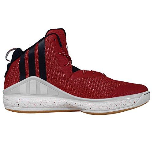 adidas Herren J Wall Scarlet/Navy/White