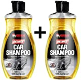 #10: GetSun Auto Deluxe Shampoo-Super Cleaner-Power Foam Car Washing Liquid - with Lemon Fragrance-Liquid Vehicle Glass Cleaner (1000 ml)