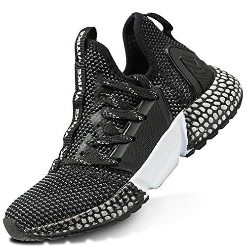 Elaphurus Kinder Sportschuhe Jungen Sneaker Mädchen Hallenschuhe Outdoor Laufschuhe Turnschuhe für Unisex-Kinder