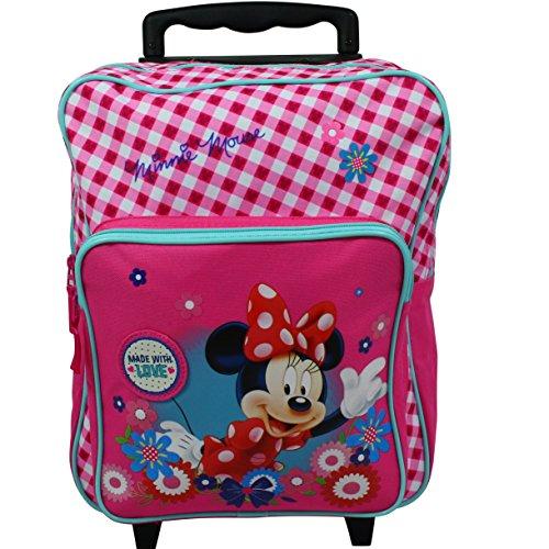 Koffer Kinderkoffer Rucksack Reisekoffer Disney 7432 (Minnie Maus-tasche)