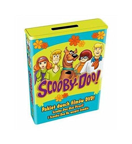 Scooby-Doo Kolekcja: Scooby-Doo: Ahoj piraci! / Na wyspie Zombie + skarbonka BOX [2DVD] (Keine deutsche Version) (Von Freddy Scooby Doo)