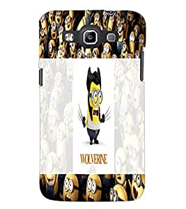 PrintDhaba Funny Image D-3993 Back Case Cover for SAMSUNG GALAXY WIN i8552 (Multi-Coloured)