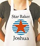 Kids Schürze, Jungen Schürze, personalisiert, Schürze für Kinder, Star Baker Schürze, Craft Schürzen