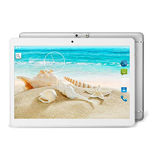 YUNTAB K98 9,6 Zoll Android-Tablet,MTK6580 1,3 GHz Quad Core,1 GB RAM+16 GB ROM,Android 5.1,IPS-Touchscreen,Dual-Kamera,Dual-SIM, 3G,GPS, WiFi,Bluetooth 4.0(Silber) (Gb Tablet-android-16)
