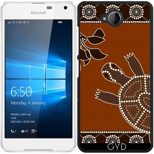 Custodia per Microsoft Lumia 650 - Tartaruga by Dedoma