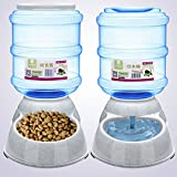 elegantstunning Pet food drink dispenser feeder Water Bowl Dish 3.5l pratica automatico rimovibile