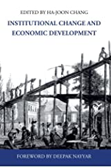 Institutional Change and Economic Development (Anthem Frontiers of Global Political Economy) Paperback