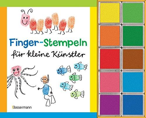 Finger-Stempeln für kleine Künstler-Set