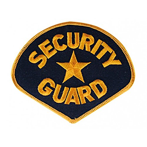 g8ds® Security-Guard-Aufnäher Türsteher Applikation Patch 2059