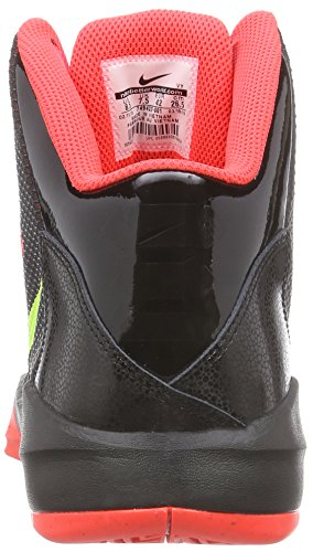 Nike  Zoom Without A Doubt, espadrilles de basket-ball homme Noir - (Black/Volt/Bright Crimson/Chrome)