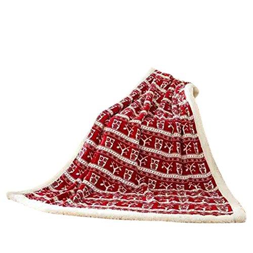 Fascigirl Weiche Decke, Decke Werfen Warme PlüSch Winter Bettdecke