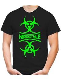 Hardstyle Mirror T-Shirt | Hardcore | Techno | Electro | Hard Trance | Männer | Herren | Bass | Musik | Tanzen | DJ