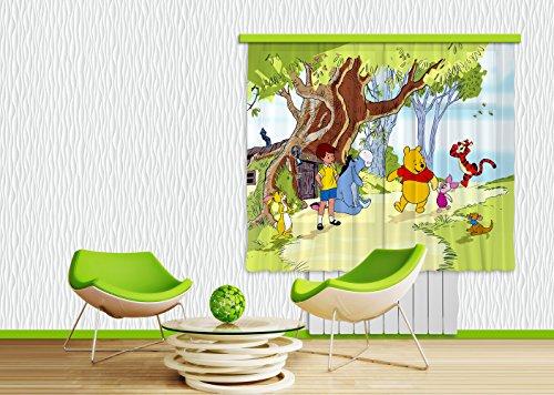 Tende Winnie The Pooh Cameretta - Il Signor Rossi