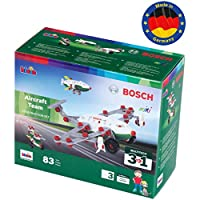 Theo Klein 8790 Bosch 3 in 1 Aircraft Team Construction Set, Toy, Multicolour