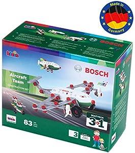 Theo Klein- 8790 Bosch 3 In 1 Set De Construcción, Aircraft Team, Juguete, (8790)