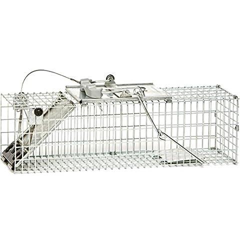 Havahart 1082 Gabbia Trappola Professionale Easy Set per La Cattura di Animali Vivi a Un'Entrata per Ratti, Conigli e Scoiattoli - Havahart Squirrel