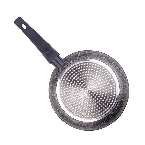 Bergner Orion Pancake Pan, Black, 24 x 1.8 cm 2