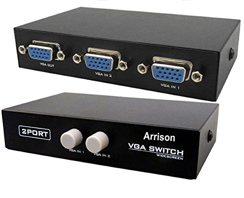 Arrison Metal Body VGA Switch Manual Switcher
